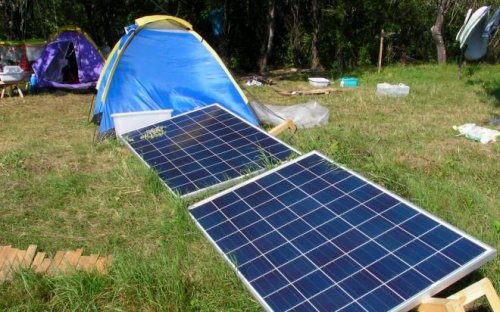 off-the-grid Solarversorgung